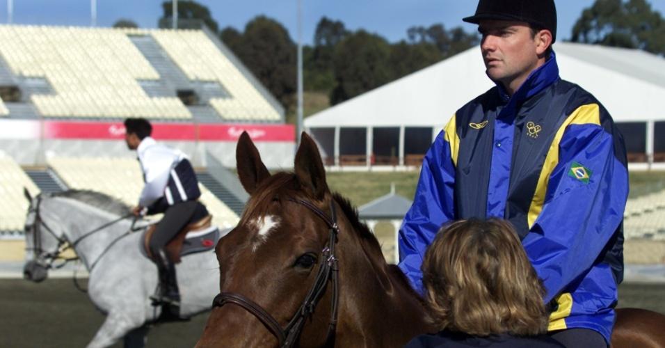 Serguei Fofanoff representou o Brasil nos Jogos Olímpicos de Sydney-2000 (16/09/2000)