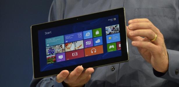 Surface: tablet da Microsoft tem tela de 10,6 polegadas e 9,3 milímetros de espessura