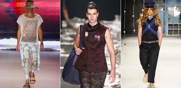 Tendências masculinas do SPFW para o Verão 2013 - Alexandre Schneider/UOL