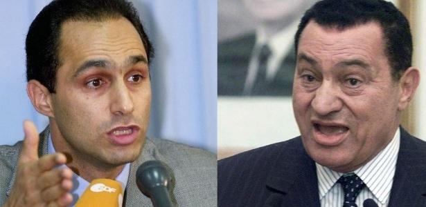 justiça egípcia ordena libertação dos filhos de mubarak afp uol