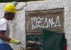 """Prefeito de NY não precisava ter medo do """"Ozama da Babilônia"""", diz grafiteiro censurado durante a Rio+20 - Hanrrikson de Andrade/UOL"""