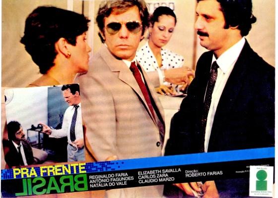 """Reginaldo faria e Antônio Fagundes em cena do filme """"Pra Frente Brasil"""" (1982), de Roberto Farias, que abre a 7ª CineOP"""