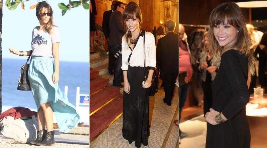 A atriz Juliana Didone namorou Mazzeo por pouco mais de um ano