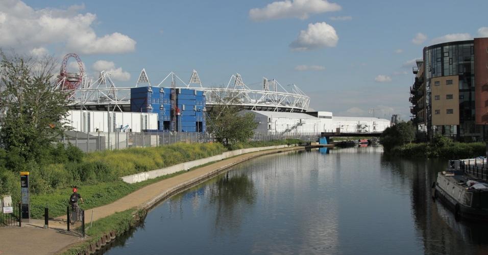 Área industrial se transforma na reserva natural Lee Valley Park em Londres