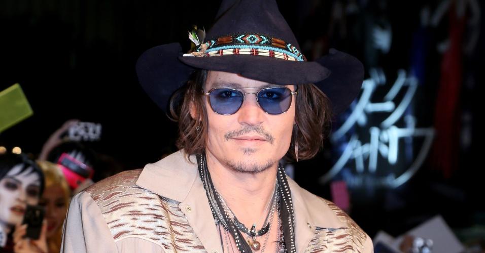 Johnny Depp em evento em Tóquio, Japão (19/5/12)