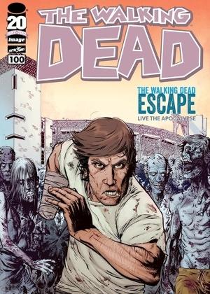 "Décima capa da centésima HQ de ""The Walking Dead"" - Entertainment Weekly"