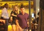 Ex-BBB Renata deixa restaurante acompanhada de um moreno, no Rio - AgNews