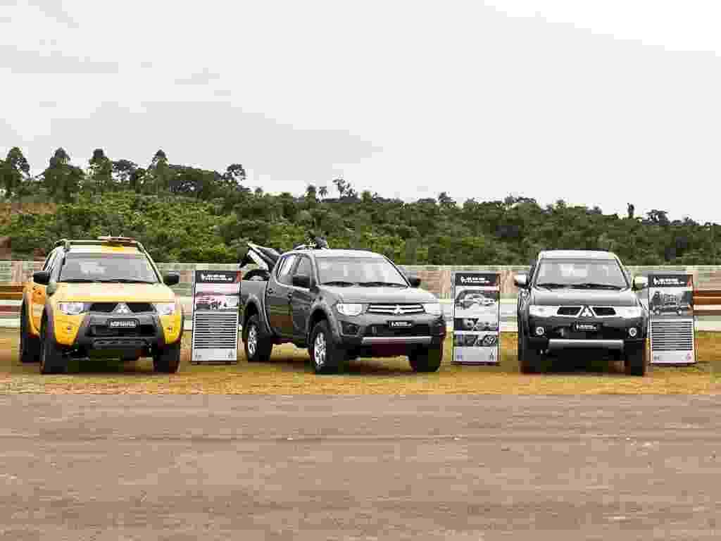 A Mitsubishi apresentou nesta terça (19) a linha 2013 da picape L200 Triton, disponível em cinco versões de acabamento - Divulgação