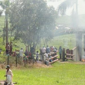 Conflito entre sem-terra e funcionários de fazenda deixam feridos no Pará - Divulgação/Agropecuária Santa Bárbara