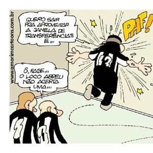 Corneta FC: Loco Abreu não acerta uma