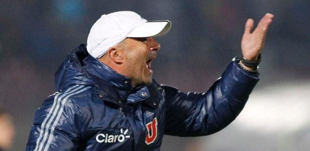Jorge Sampaoli foi técnico da Universidad de Chile por duas temporadas, em 2011 e 2012 - Eliseo Fernandez/Reuters