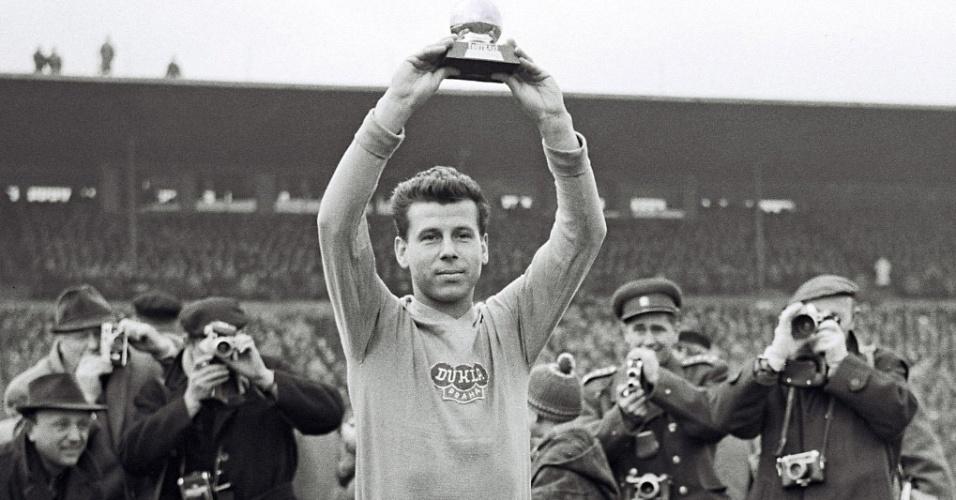 Josef Masopust, jogador da Tchecoeslováquia na Copa do Mundo de 1962