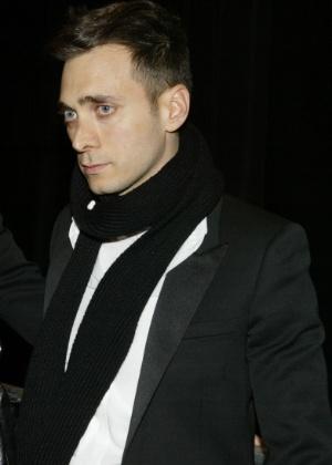 O estilista Hedi Slimane durante inauguração de loja da Dior Homme, em 2005 - Getty Images