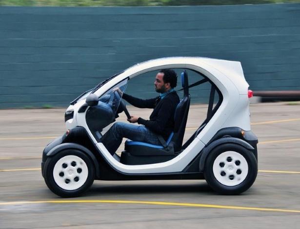 Isenção de IPI pode ser porta de entrada de elétricos como o Renault Twizy no Brasil - Oswaldo Palermo/Divulgação