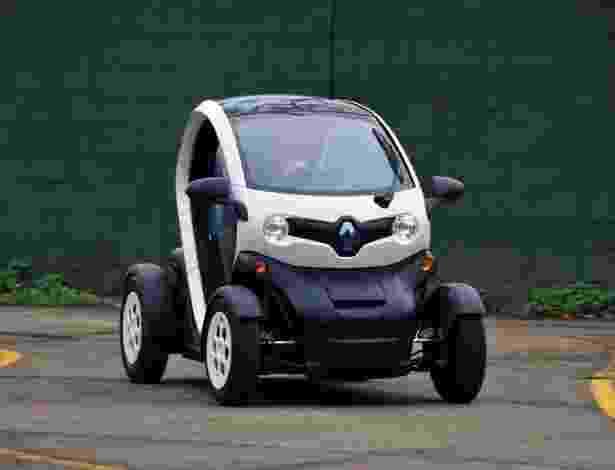 Renault Twizy é veículo elétrico de uso predominantemente urbano - Divulgação
