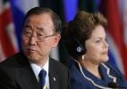"""""""Como a Rio92, Rio+20 terá efeito transformador na sociedade atual e futura"""", diz Dilma - AFP/Antonio Scorza"""
