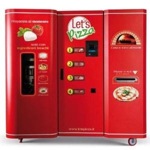 Máquina automática de pizza: jantar em 2,5 minutos - Reprodução/Divulgação