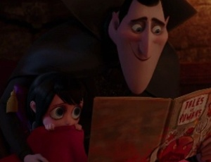 "Cena do trailer de ""Hotel Transylvania"""