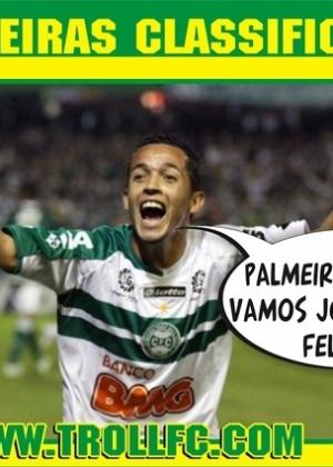 Corneta FC: Coritiba pega Palmeiras na final e entra em clima de