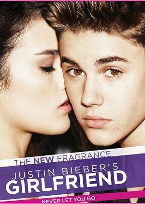 """Justin Bieber na campanha da fragrância feminina, """"Girlfriend"""" - Divulgação"""