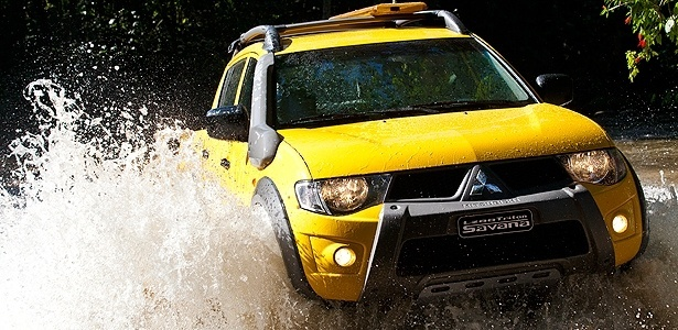 """Com risco de quebra da fechadura do capô, Mitsubishi pede que motorista evite """"uso severo"""" até o reparo - Divulgação"""