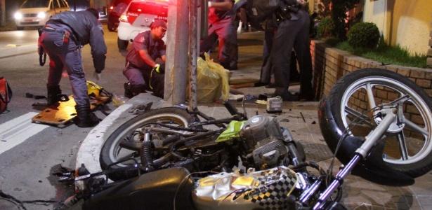 Acidentes seriam menos rotineiros se todas as motos fossem equipadas com itens básicos de segurança
