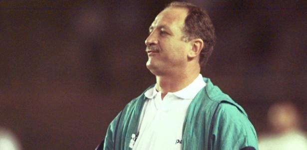 Felipão chegou ao Palmeiras em 1997 e foi campeão da Copa do Brasil de 1998