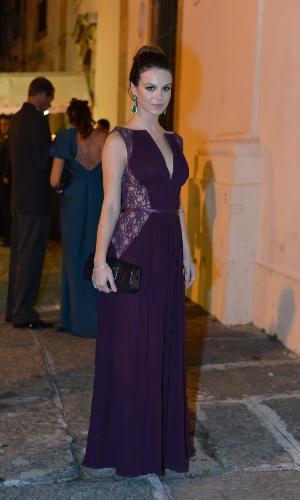 Sthefany Brito foi madrinha do casamento de Luma Costa com o empresário Leonardo Martins, no Rio (23/6/12)