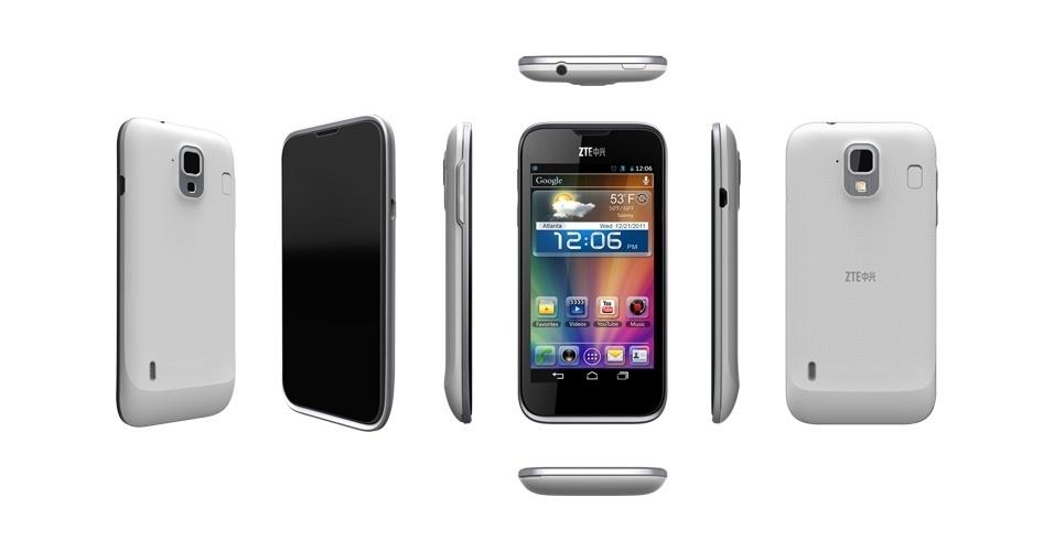 25.jun.2012 - Mais um smartphone habilitado para funcionar em rede 4G chega ao mercado no terceiro trimestre de 2012: o Grand X, da ZTE. O smartphone usa sistema Ice Cream Sandwich (Android 4.0), processador dual-core de 1,5 GHz, câmera traseira de 8 megapixels e tela de 4.3 polegadas. Ele inicialmente será vendido em países da região Ásia-Pacífico e Europa