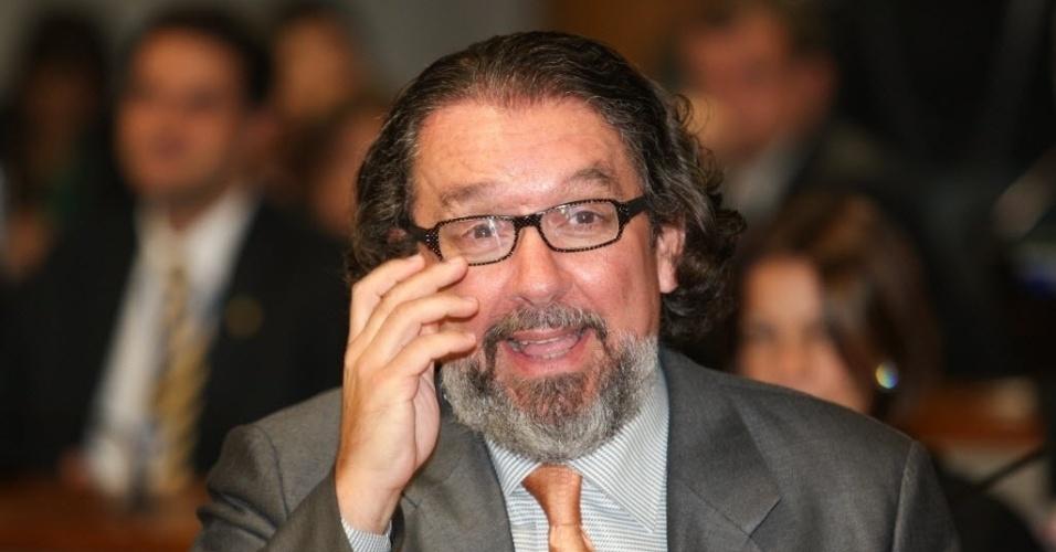 25.jun.2012- Advogado de Demostenes Torres (sem partido-GO), Antonio Carlos de Almeida Castro