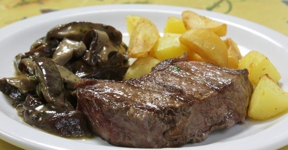 comida, alimentação, vestibular, bife, batata frita
