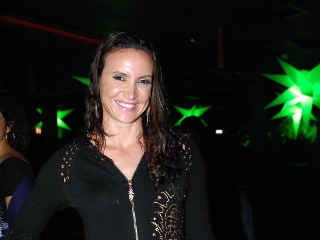 Nesta festa em 2011, Maurren usou um look menos glamuroso, com um vestido quase infantil e cabelos em um penteado mais desarrumado