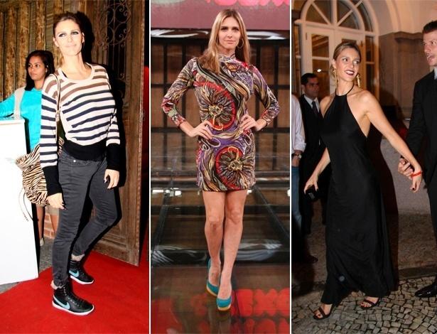 Sem mostrar muito o corpo, Fernanda Lima gosta de roupas confortáveis e jovens - Agnews