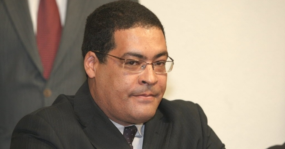 26.jun.2012 - Écio Antônio Ribeiro, testemunha envolvida na venda da casa do governador de Goiás, Marconi Perillo (PSDB), na CPI do Cachoeira