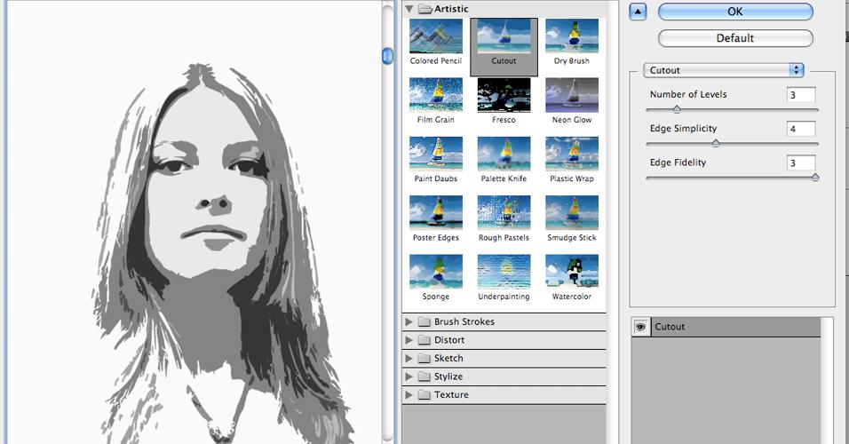 Efeito psicodélico no Photoshop cria pôster no estilo dos anos 70