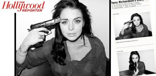 Lindsay Lohan em ensaio do fotógrafo Terry Richardson