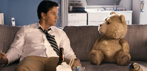 """Cena da comédia """"Ted"""", de Seth MacFarlane, que estreia nesta sexta-feira (21) nos cinemas brasileiros"""