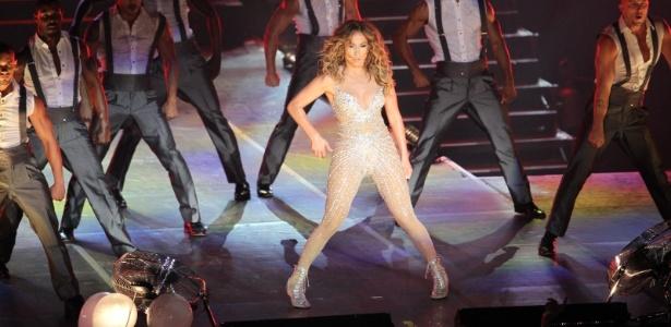 Jennifer Lopez se apresenta no Pop Music Festival 2012 em seu primeiro show no Rio (27/6/12) - Raphael Mesquita/Foto Rio News