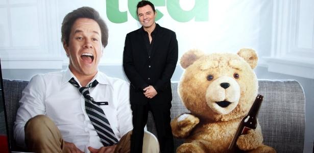 """O autor, diretor e roteirista Seth MacFarlane em lançamento de """"Ted"""", em Los Angeles (21/6/12)"""