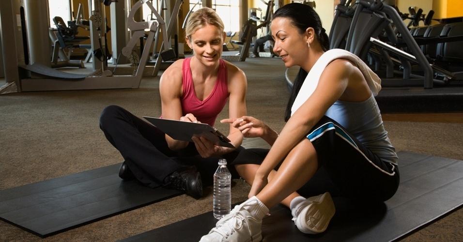 planilha de treino, personal trainer