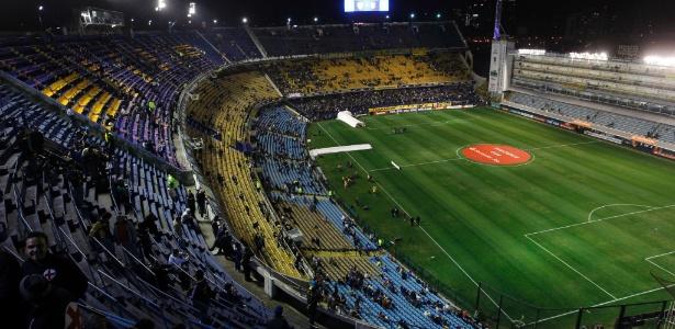 Estádio La Bombonera, provável palco da final da Sul-Americana