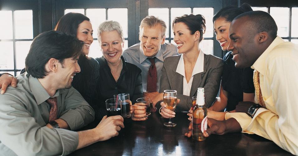 trabalho, amigos, happy hour, bar