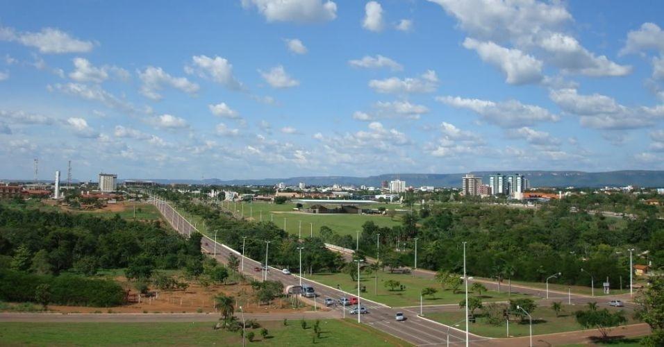 28.jun.2012 - Imagem 27/35: Imagem mostra vista de Palmas, no Tocantins, capital brasileira que apresentou maior taxa de crescimento anual médio entre 2000 e 2010: 5,21%