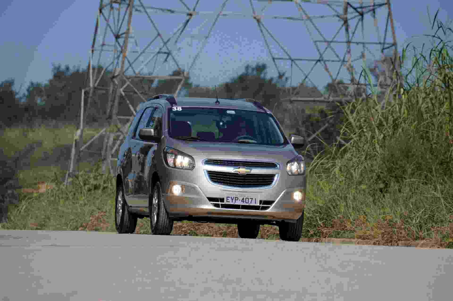 A Chevrolet Spin finalmente estreia no Brasil; até o fim de 2012, saem de linha Meriva e Zafira - Murilo Góes/UOL