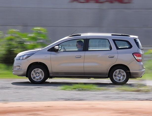 Chevrolet Spin LTZ: sua versatilidade é um fato e seu preço é matador; é isso que você quer?  - Murilo Góes/UOL