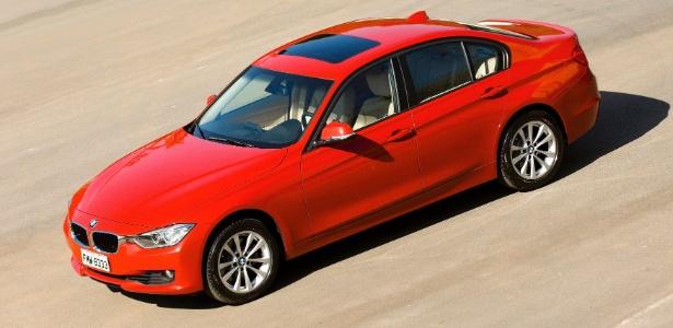 Nova geração do BMW Série 3, lançada no Brasil em 2012, é uma das mais afetadas pelo recall - Divulgação
