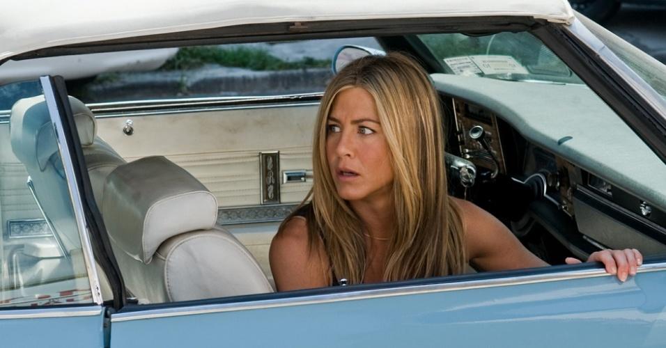Quase 14% dos entrevistados disseram que gostariam de ter a ex-atriz de Friends ao seu lado em uma viagem de carro