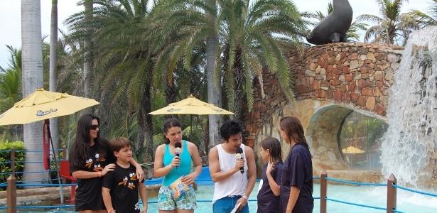 Programa terá desenhos animados e gincanas entre visitantes do Beach Park