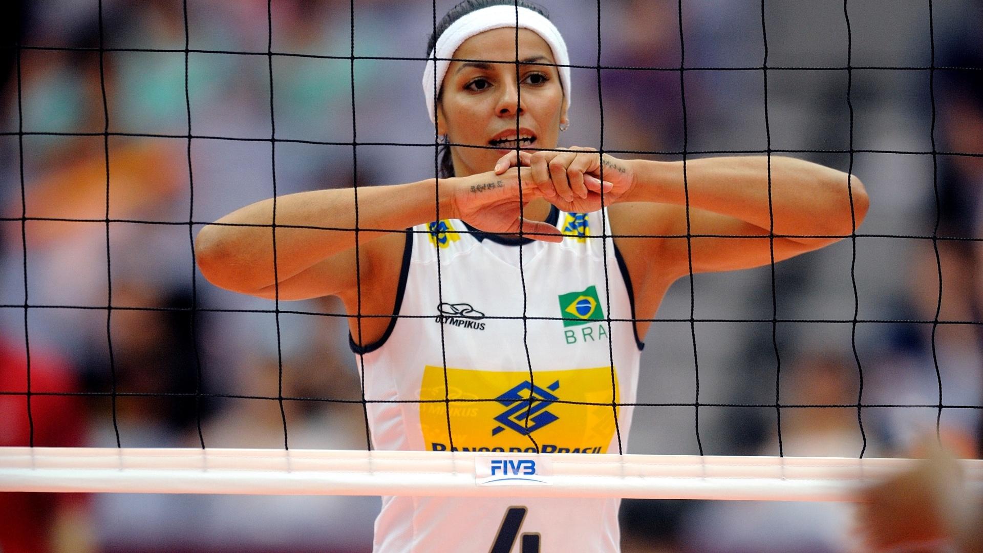 Paula Pequeno terminou o duelo contra as cubanas com cinco pontos