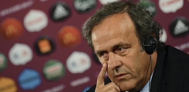 O francês Michel Platini foi eleito presidente da Uefa em 2007, substituindo o sueco Lennart Johansson - EFE/Vassil Donev